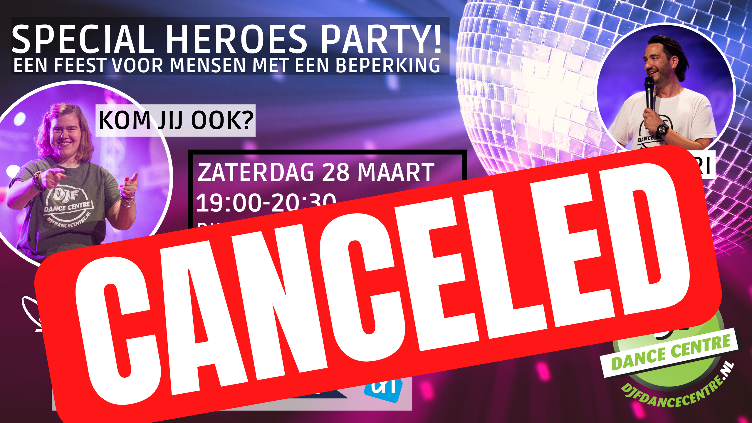 SPECIAL HEROES PARTY! CANCELED